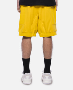 Lines In Time Duplo Shorts (Yellow)