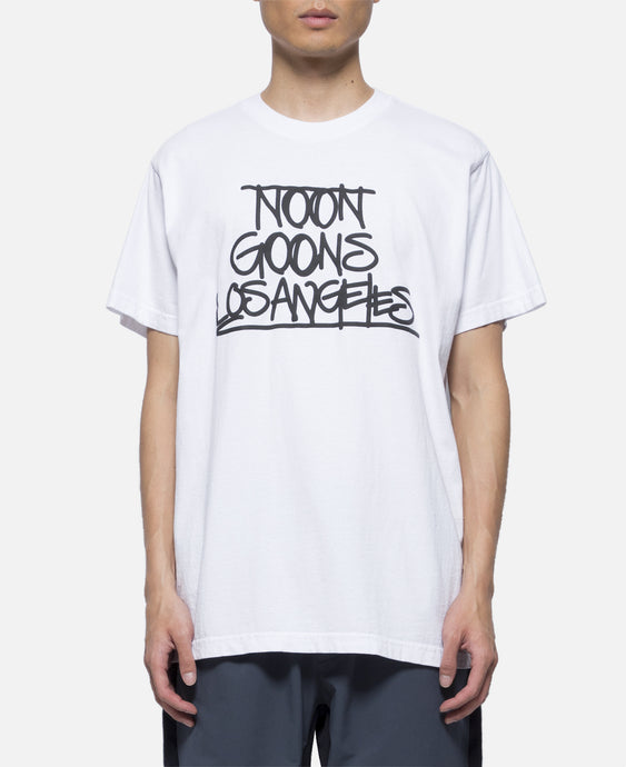 Noon Goons Tag T-Shirt (White)