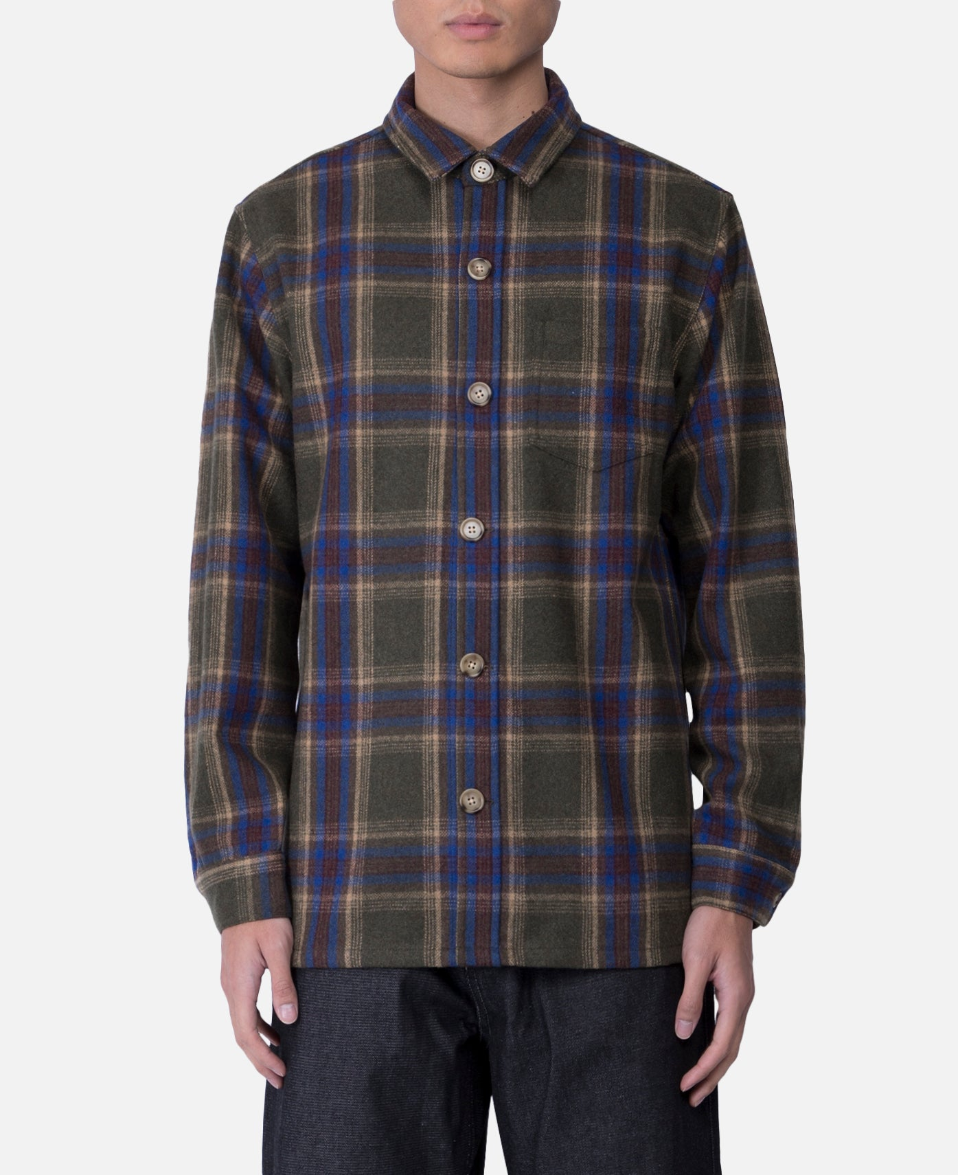 Flannel Shacket Jacket