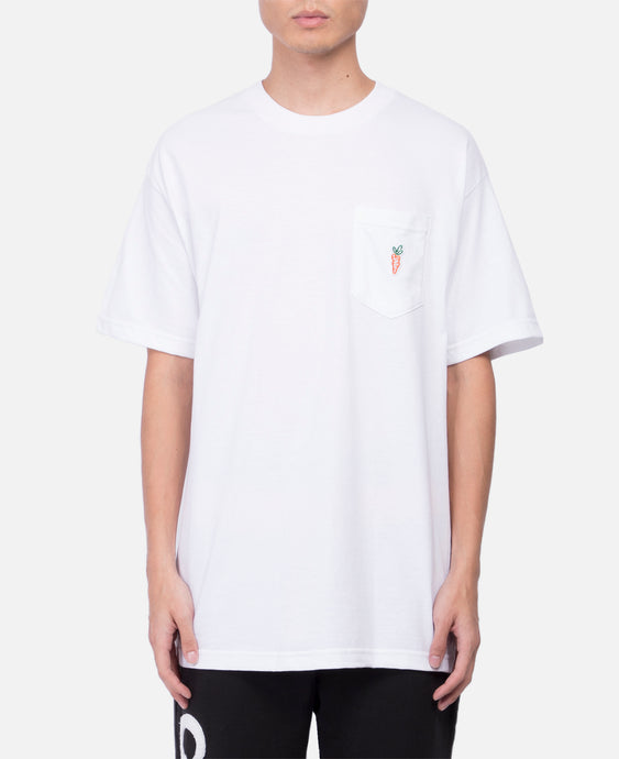 One Hit Patch Pocket T-Shirt (White)