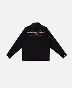 Hate Campaign Coach Jacket (Black)