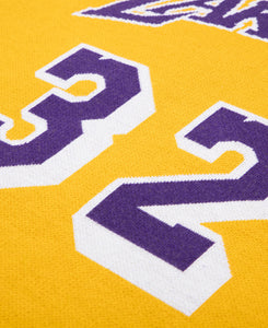 Lakers 84-85 Johnson Knit Jersey