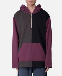 Front Seam Hoodie (Grey)