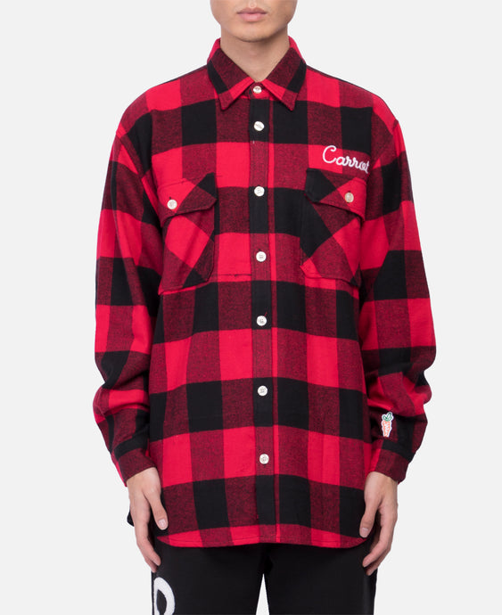 Signature Lumber Jack Flannel (Red)