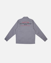 Hate Campaign Coach Jacket (Grey)