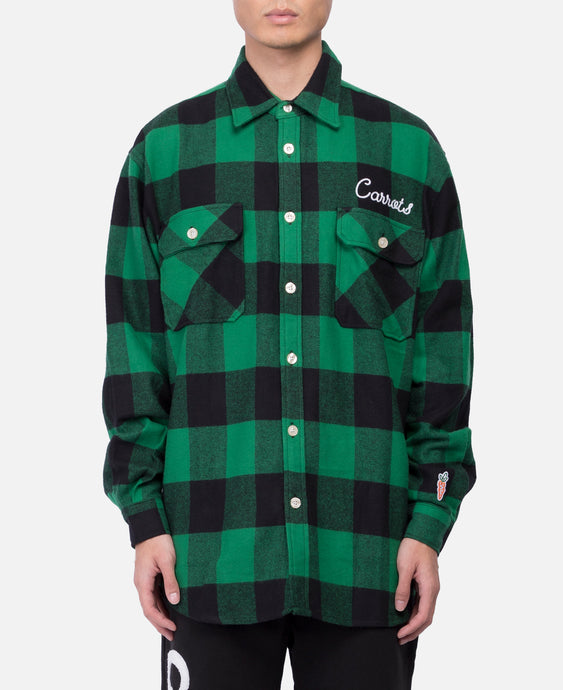 Signature Lumber Jack Flannel (Green)