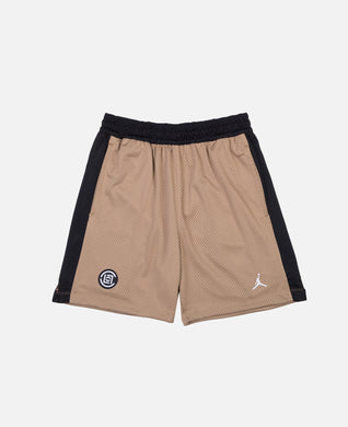 CLOT x Jordan Mesh Shorts (Brown)