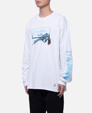 Smoking Gun L/S T-Shirt (White)