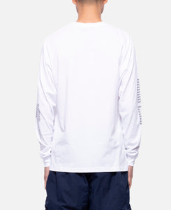 Ideas Are Real L/S T-Shirt (White)