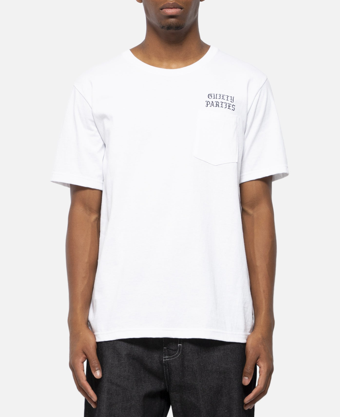 Over Size Crew Neck Pocket T-Shirt (Type-1)