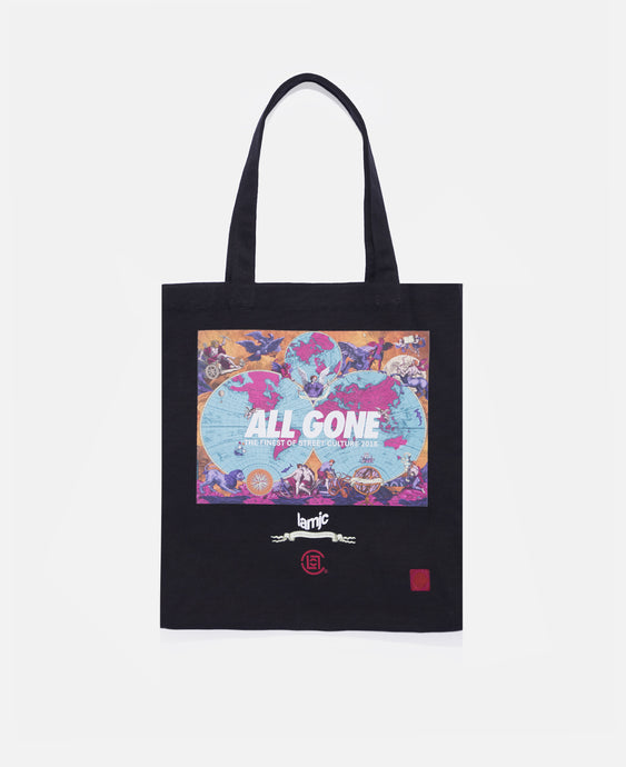 All Gone Globe Tote Bag