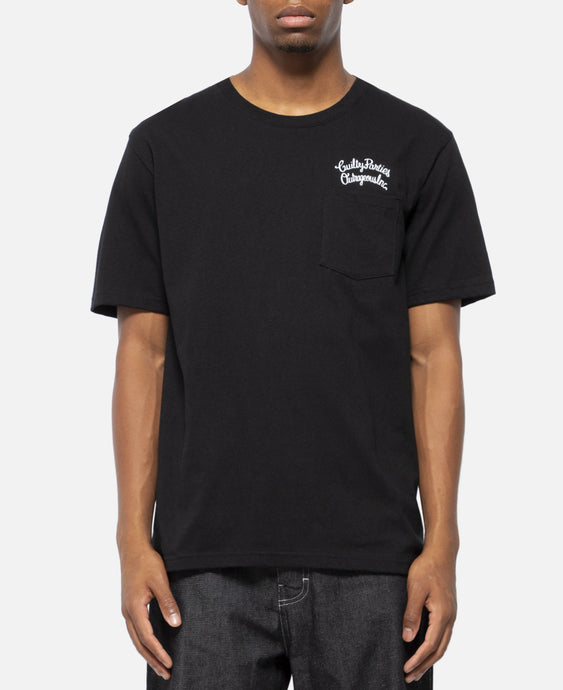 Over Size Crew Neck Pocket T-Shirt (Type-4)