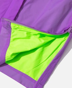 Flo-Res Color Block Anorak Jacket (Purple)