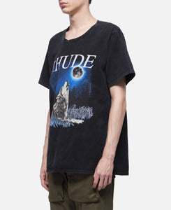 Wolf W/ The Moon T-Shirt