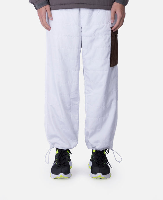 Quilted Pants (White)