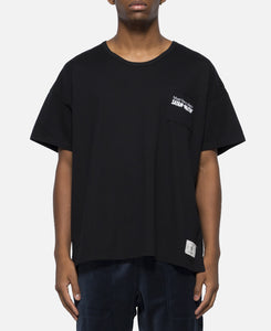 Mecha-Death Pocket T-Shirt (Black)