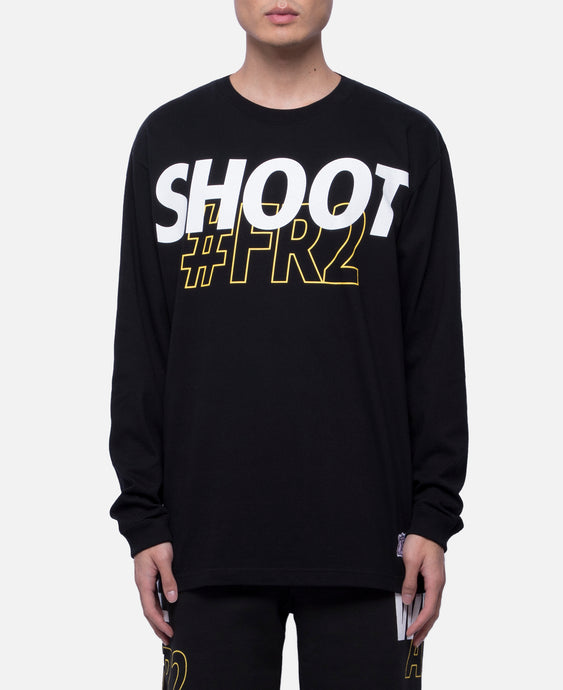 Shoot #FR2 L/S T-Shirt (Black)