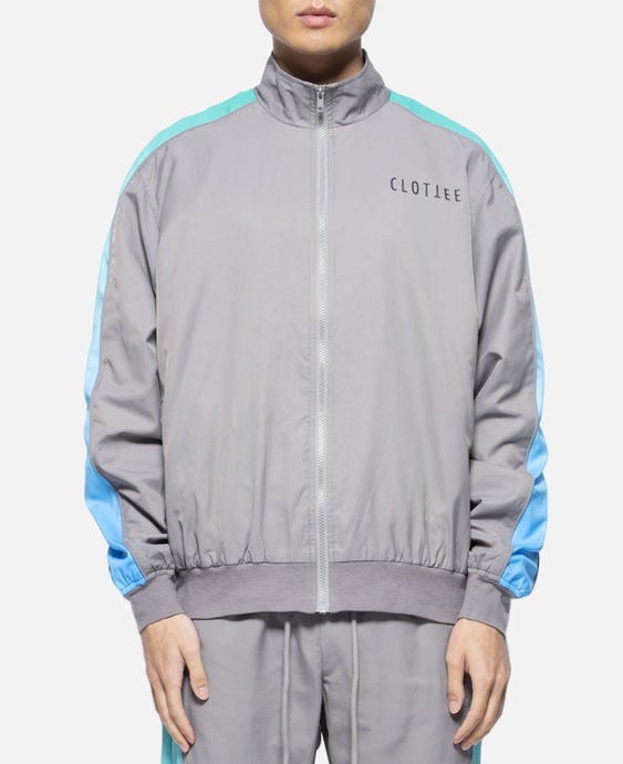 Gradient Track Jacket (Grey)