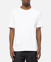 Washed Heavy Weight Crew Neck T-Shirt (Type-3) (White)