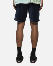 Velor Sweat Shorts (Navy)