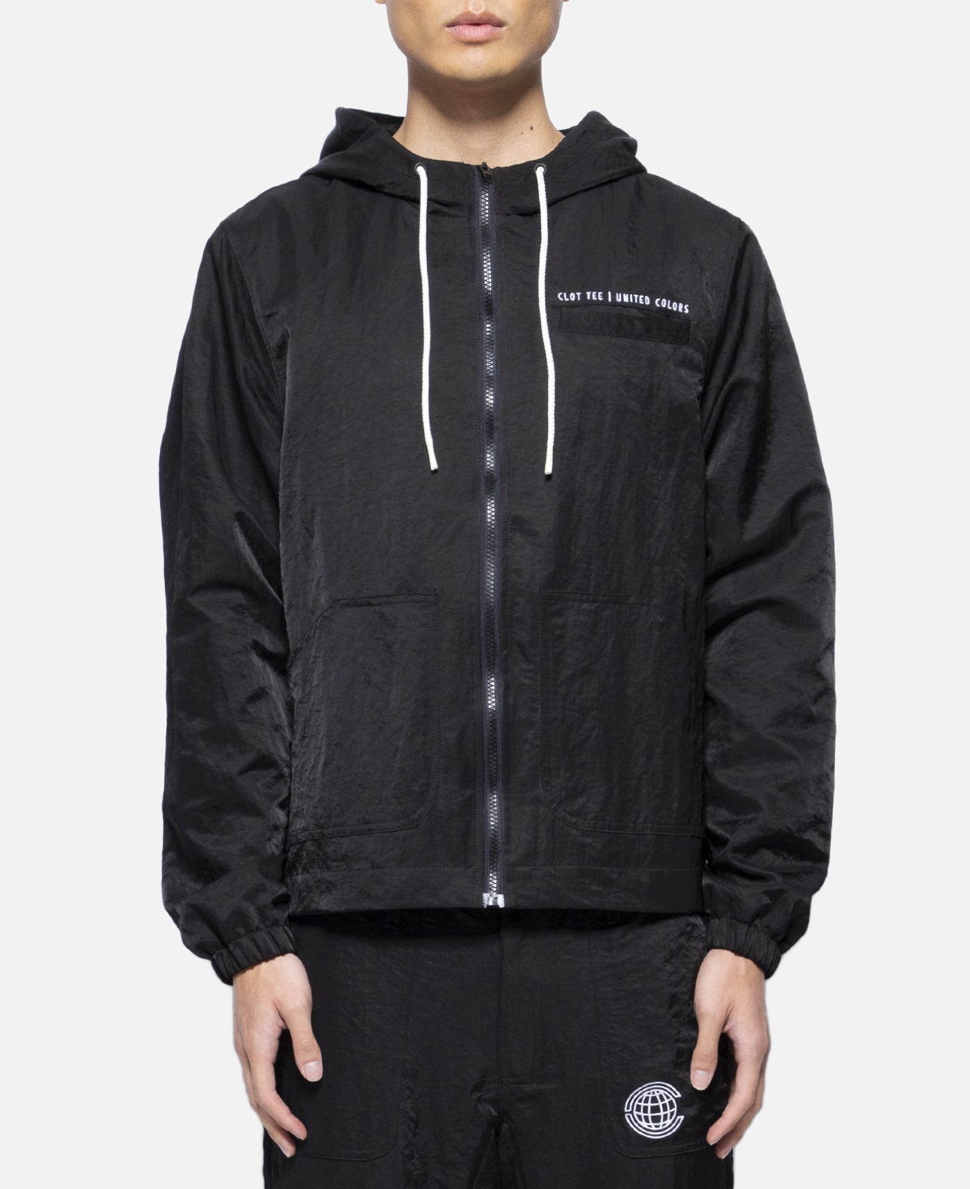 Globe Windbreaker (Black)