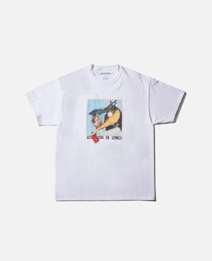 CLOT X FR2 NO SMOKING TEE WHITE