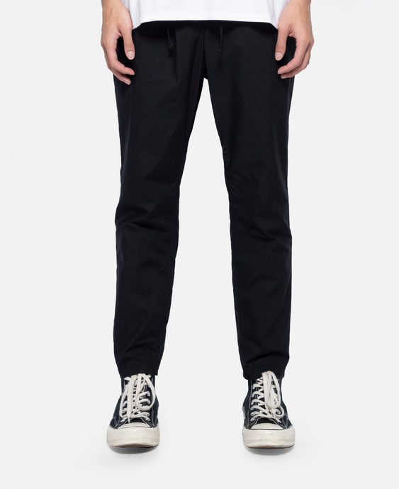 Tapered Easy Pants (Black)