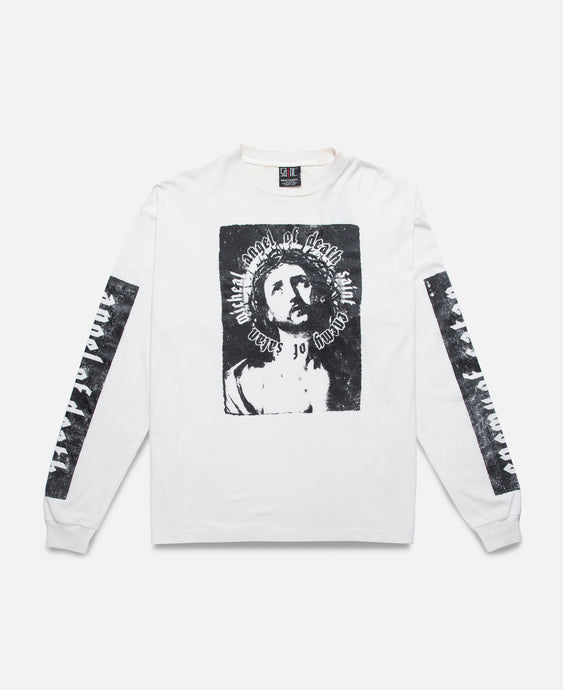 Angel Of Death L/S T-Shirt (White)