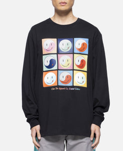 Smiley L/S T-Shirt (Black)