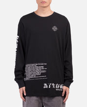 Associates Graphics L/S T-Shirt (Black)