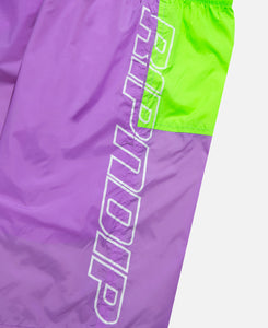 Flo-Res Color Block Swim Shorts (Purple)