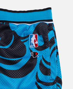 Psychedelic Basketball Shorts (Blue)