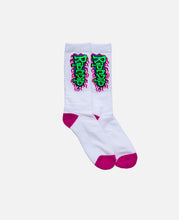 Flaming Hot Socks (White)