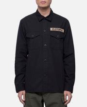 Camo Field Shirt (Black)