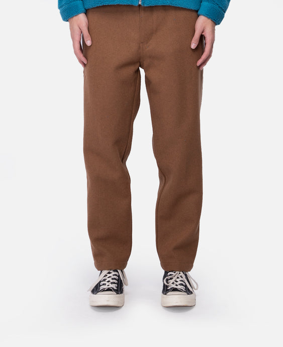 Construct Tapperd Slim Pant (Brown)