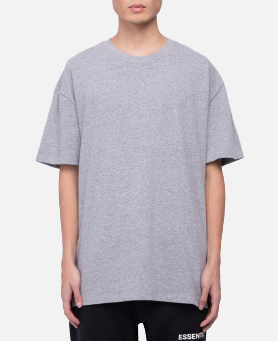 Boxy Graphic S/S T-Shirt (Grey)