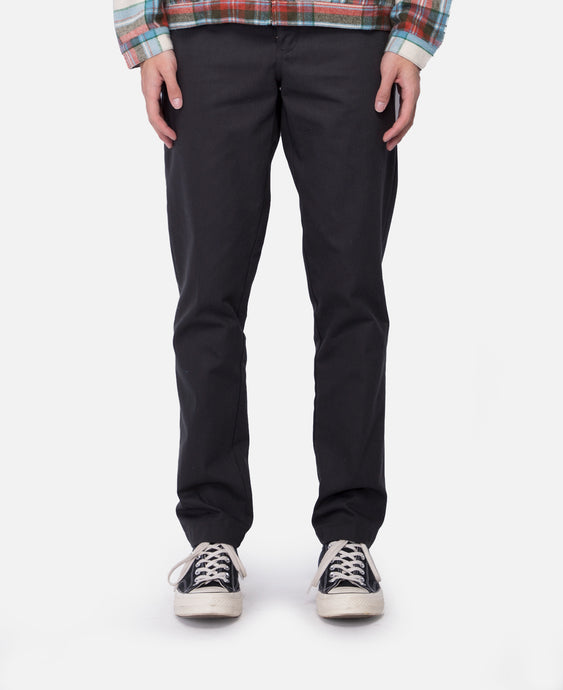Construct Straight Slim Pant (Black)