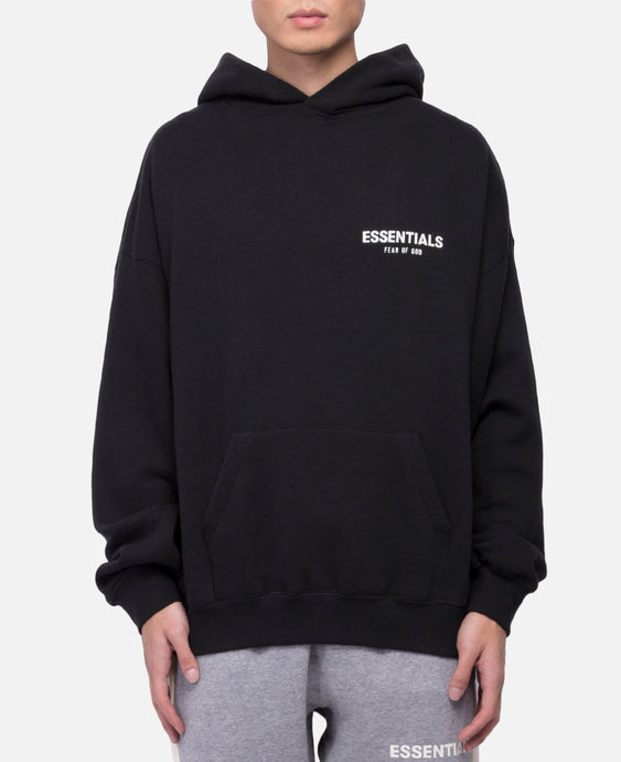 Pullover Photo Hoodie (Black)