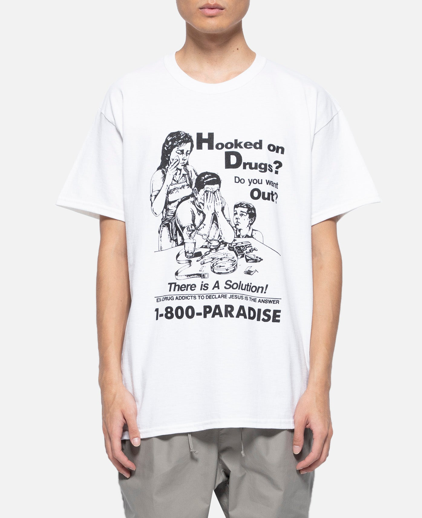 Hooked On Drugs S/S T-Shirt