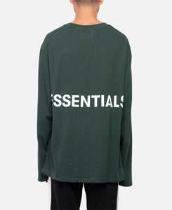 Boxy Graphic L/S T-Shirt (Green)