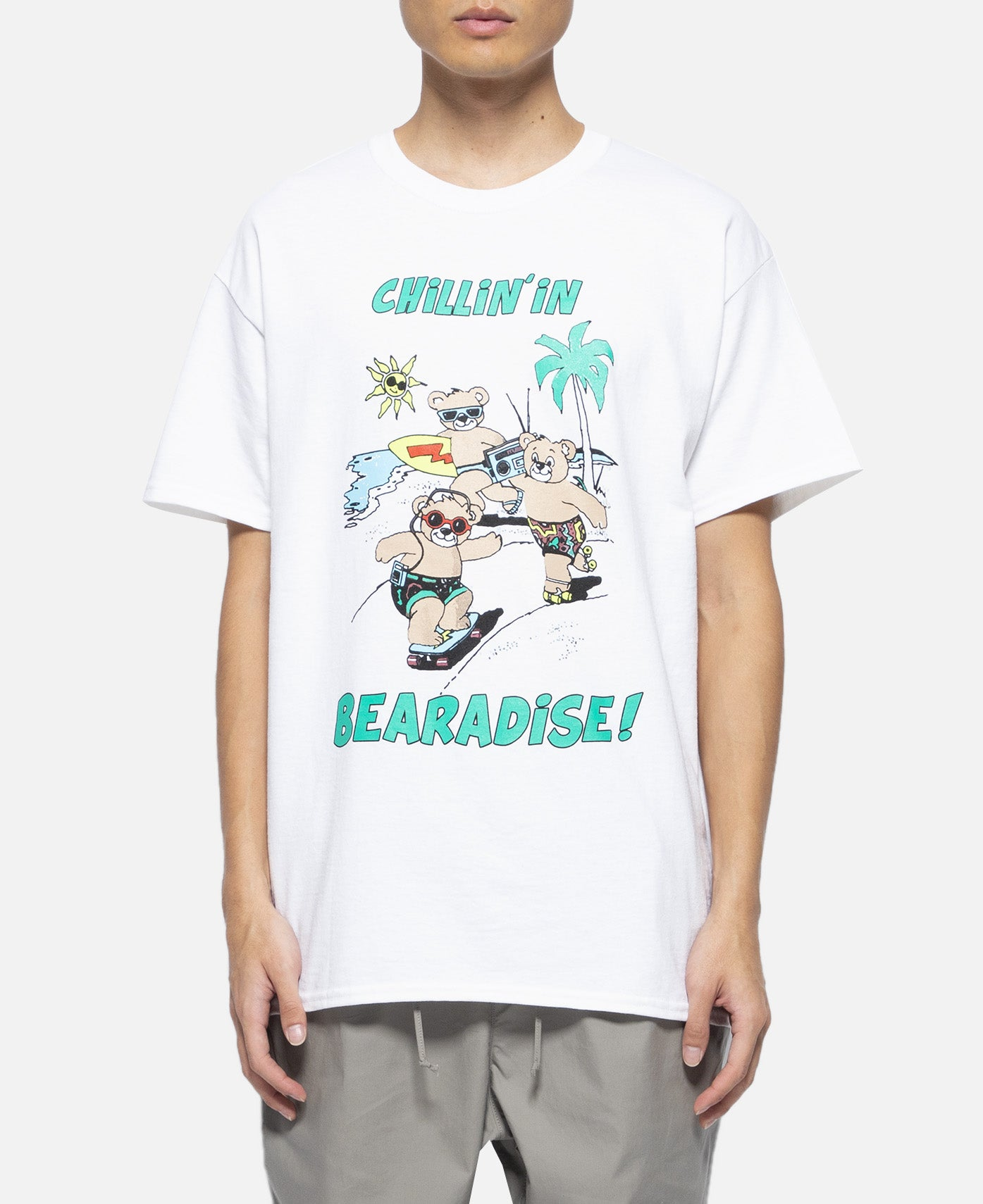 Chillin In Bearadise S/S T-Shirt