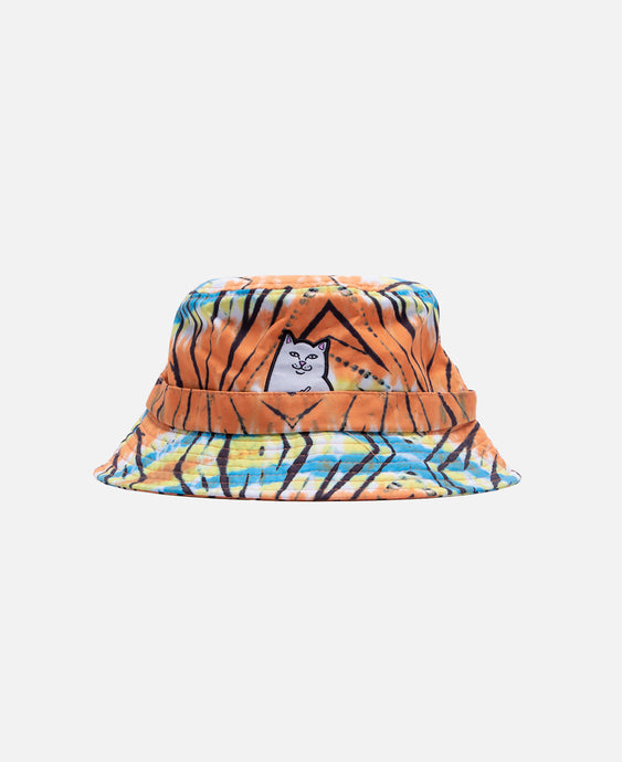 Open Minded Bucket Hat (Orange)