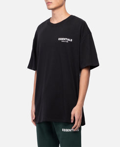 Boxy Photo T-Shirt (Black)