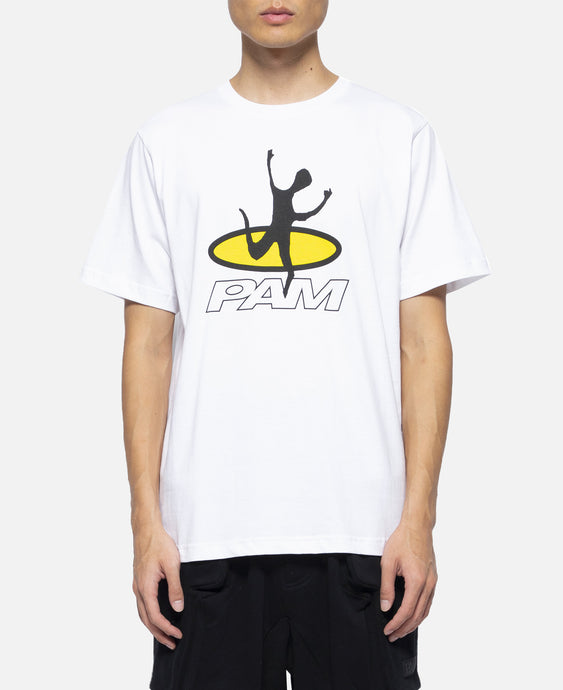 Disc Man S/S T-Shirt (White)