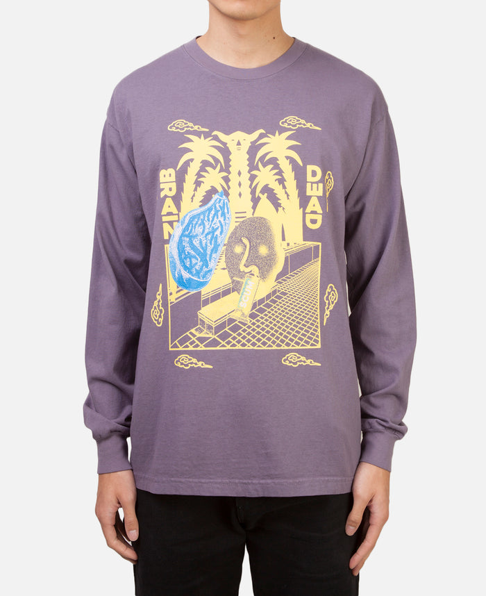 Scum L/S T-Shirt Purple
