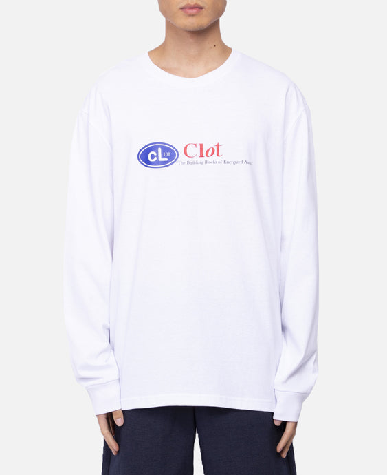 Energized Aura L/S T-Shirt (White)