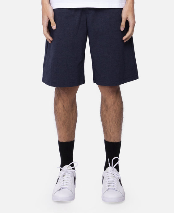 Drawstring Shorts (Navy)