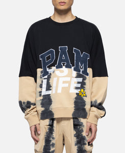 PSY Life Half Way Crew Neck Sweat (Black)