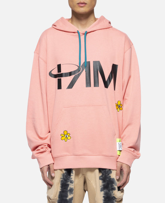 Fields Beyond Hooded Sweat (Pink)