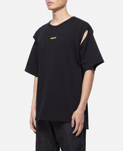 2way Cutout Logo T-Shirt (Black)